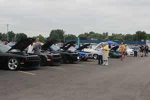 Car show event hosted by Caps Garage